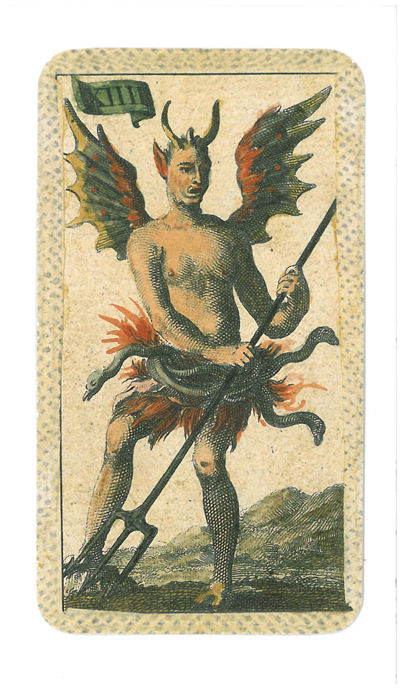 Card in a Tarot Deck